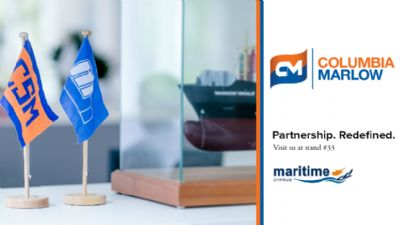 Columbia Marlow at Maritime Cyprus Conference 2017