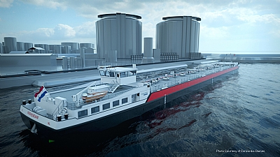 Marlow to Manage 40 New Inland Tankers for Shell