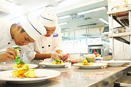 New cook training course in the Philippines – Nutritional Balanced Healthy Menu